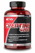Creatine 4200 Supplement, Supports Muscles Pre and Post Workout, 240 Capsules