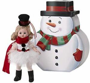 "Madame Alexander #69760 Snowman Ballerina 8"" Doll - New in Box - Retired"