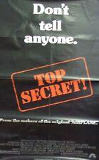 Top Secret! Original Single Sided Movie Poster 1984 Val Kilmer & Peter Cushing