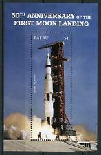 Palau 2018 MNH Moon Landing 50th Anniv Apollo 11 Launch 1v S/S Space Stamps