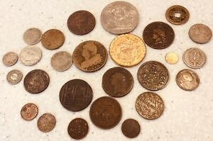 Group of Coins and tokens Middle East/Europe