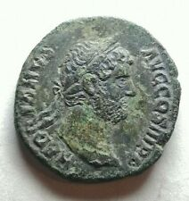 Hadrian 117-138 As Rome Ancient Authentic Roman coin