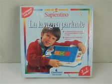 LA LAVAGNA PARLANTE Sapientino CLEMENTONI 3-5 Anni 7 attività Alfabeto numeri V8
