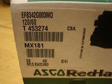 Asco Red Hat Solenoid Valve EF8342G003M0
