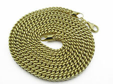 10K Yellow Gold FRANCO SEMI HOLLOW CHAIN approx. Gold weight 26.00GMS-3.70mm