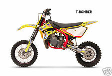 Dirt Bike Graphics Kit decal Sticker Wrap For Cobra CX50 2007-2012 TBOMBER YLLW