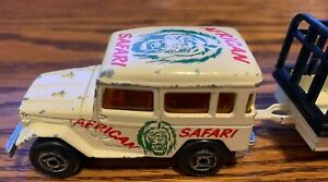 African Safari Twin Set Majorette Made in France #277 & 21720 Toyota Land Rover