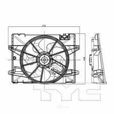 TYC 621380CU Radiator And Condenser Fan Assembly new open box