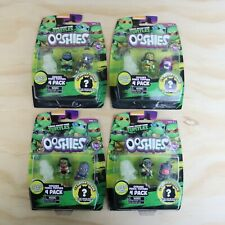 2016 Teenage Mutant Ninja Turtles Ooshies Series 1 - New - 4 Pack Figures