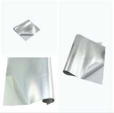 Motorcycle Exhaust Pipe Hood Engine Heat Shield Adhesive Backed Aluminum Layer