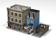 LEGO MOC Custom Modular PACK Garden + House + Comic Store- PDF Instructions Only