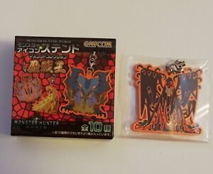 Capcom Monster Hunter World Arch Tempered Vaal Hazak Stained Glass Icon Strap