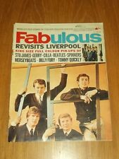 FABULOUS MUSIC MAGAZINE 19TH JUNE 1965 CILLA BEATLES BILLY FURY MERSEY BEATS
