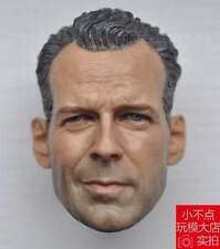 1/6 Scale Bruce Willis Head Sculpt For John Mcclane Die Hard Kit Bashing Normall