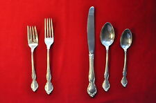 Alvin Pirouette sterling silver 5 piece place setting - no mono many available