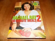 RACHAEL RAY 30-MINUTE MEALS 2 Food Network Cookbook Recipes Cook Recipe Book