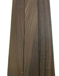 """3 Pack, INDIAN ROSEWOOD THIN STOCK BOARDS LUMBER CRAFTS WOOD 3/8"""" X 2"""" X 12"""""""