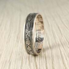 Coin 1920 Handmade Unique Vintage Silver Coin Ring Ussr First Communist