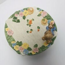 Easter Bunny Floral Fitz And Floyd Multi Dimensional Canape Plate School Days