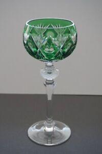 WMF-Cristal//Bleikristall-Cabinet-Glas//Römer//Wein-Grün-1Stück Top!!!