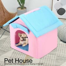 Small Medium Pet Cat Dog Tent Kennel Cage Breathable House Indoor Outdoor