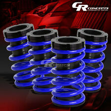 "LOWERING 1-3""ADJUSTABLE SCALE COILOVER+BLUE COIL SPRINGS FOR 01-05 CIVIC EM2 ES"
