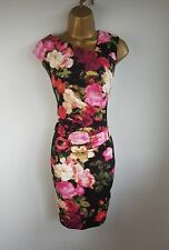 London Times Floral Party Evening Occasion Pencil Dress Size 12