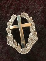 ROYAL ARMY CHAPLAINS DEPARTMENT GENUINE OFFICERS  BADGE