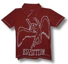 Led Zeppelin - Swansong - Girlie Polo Shirt - Size S - Neu