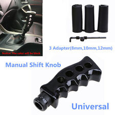 Car Gear Shift Knob Shifter Black Gun Grip Knife For Handle Manual Transmission