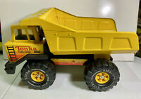Vintage 1980's TONKA pressed steel TURBO DIESEL DUMP TRUCK XMB-975 In Nice Shape