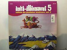 INTI-ILLIMANI 5 - Canto de Pueblos Andinos, Vol. 2 ~ MONITOR 802 {nm orig} >RARE