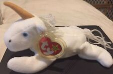 RARE Retired MYSTIC UNICORN Ty Beanie Baby With Tag ERRORS 1993-1994 Style #4007