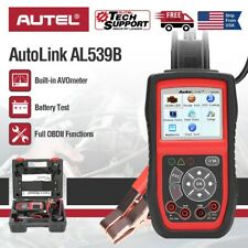 Autel AL539B OBD2 Code Reader Battery Circuit Starting Charging Systems Test