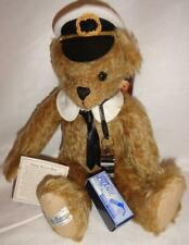 "Merrythought Tide-Rider BL15GD 15"" Jointed Titanic Rescue Bear Teddy Mohair NEW"