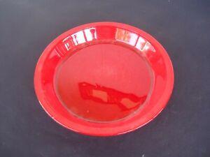 vintage pyrex agee red pie quiche plate baking dish red pr-912 Australia 24 cm