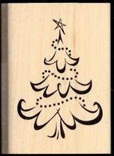 Inkadinkado rubber stamp Christmas Tree 