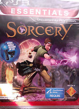 "JEU PS3 ""SORCERY"" (Action, Aventure) SONY NEUF SOUS BLISTER"