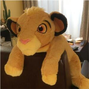 Disney The Lion King Simba Mega Jumbo Sitting Plush 20 in.
