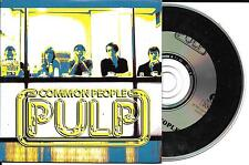 CD CARTONNE CARDSLEEVE COLLECTOR 2 TITRES PULP COMMON PEOPLE EDIT. LIMITÉE