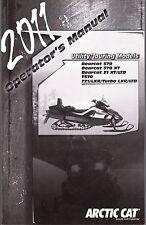 2011 ARCTIC CAT OPERATORS MANUAL UTILITY & TOURING BEARCAT, TZ1, LXR TURBO (755)