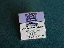Disney WDW 2008 Hidden Mickey Fast Pass Toy Story Midway Mania Pin  Authentic