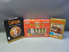 "Lot 3 Advanced Dungeons 5 1/4"" Disk Ultima CD Rom Classics Ultimate Fantasy"