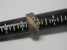 Levian Chocolate Diamond and Vanilla Diamonds Ring in 14k Honey Gold