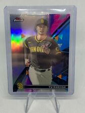 2021 Topps Finest Refractor Yu Darvish San Diego Padres
