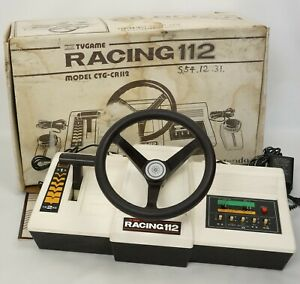 COLOR TV GAME RACING 112 Console Boxed CTG-CR112 Tested System JAPAN 1202509