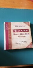 Have a Little Faith: A True Story by Mitch Albom (CD-Audio, 2011) New Sealed