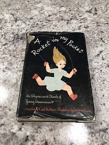 Rocket In My Pocket Rhymes Chants Young Americans Withers Suba Holt HC 1948