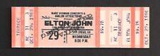 ELTON JOHN 1980 ORIGINAL FULL CONCERT TICKET SAN DIEGO SPORTS ARENA.......$24.95