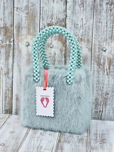 Shrimps Una Sand Bag In Mint Green / Was Selling At Yoox & Farfetch